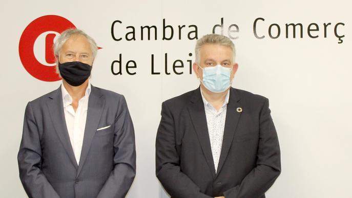 Acord entre la Cambra de Lleida i Microbank per potenciar l'autoocupació i l'emprenedoria
