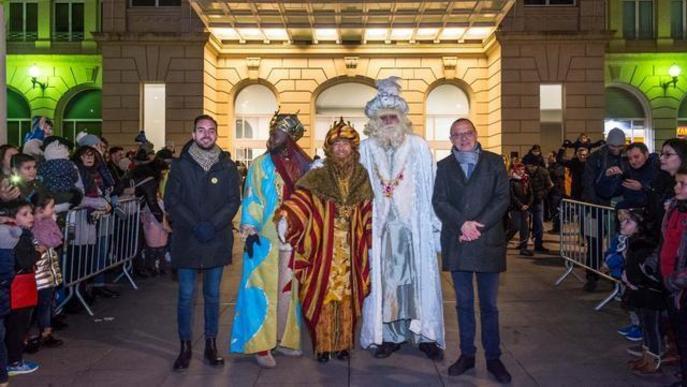 La màgia, la il·lusió i els somriures inunden Lleida amb l'arribada dels Reis Mags