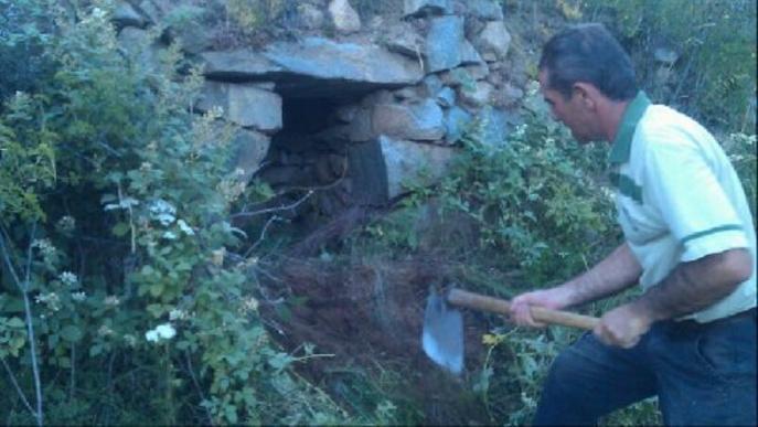 Veïns d'Aransa rehabiliten 110 cabanes de pastors antigues
