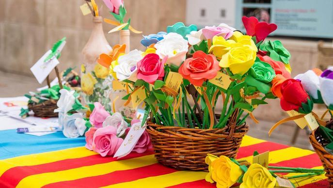 Arxiu flors Sant Jordi - Miquel de Santiago