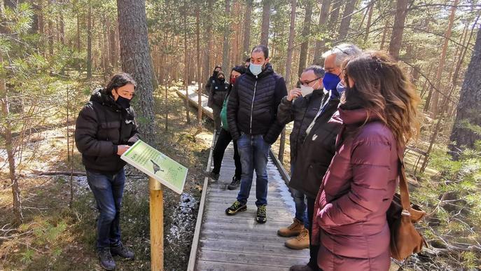 Inaugurada la nova aula de natura del Refugi de la Basseta, a l'Alt Urgell