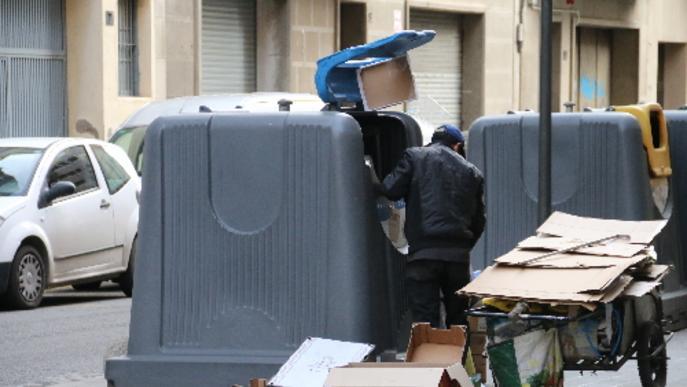 El reciclatge d'escombraries creix a la ciutat, però és lluny de la mitjana