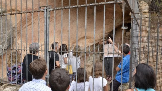 El centre d'art rupestre del Cogul tindrà llum aquest any