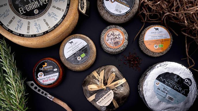Llet de Cabres Catalanes sortejarà un lot de formatges certificats durant la Fira de Sant Miquel