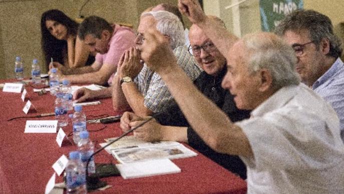 Cervera rememora el pas de la Marxa de la Llibertat en el 40è aniversari