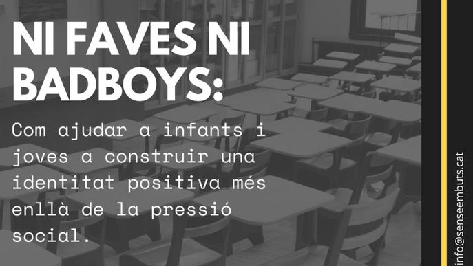 Daniel Gabarró obrirà la jornada pedagògica de 'Sense Embuts', dedicada a ajudar a infants i joves a construir una identitat més enllà de la pressió social