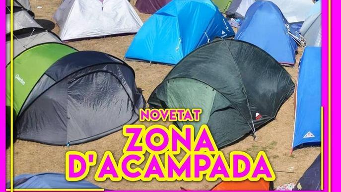 El Freedom durarà dos dies i tindrà zona d'acampada