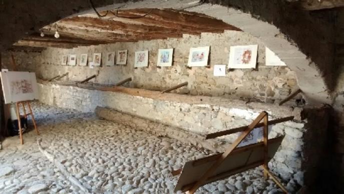 Els Urban Sketchers, a la Fira d'Art de Salàs de Pallars