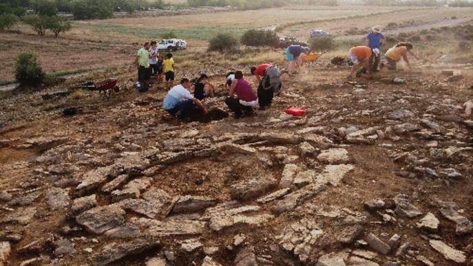Noves excavacions a la necròpolis d'Almenara