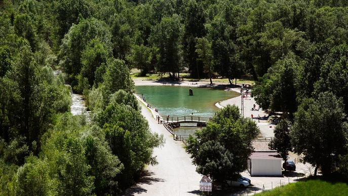 ⏯️ L'entorn del pantà de Rialb, beneficiat pel turisme de proximitat 20 anys després de la seva inauguració