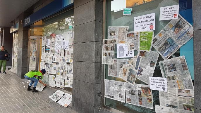 'Empaperen' nou sucursals bancàries de Lleida