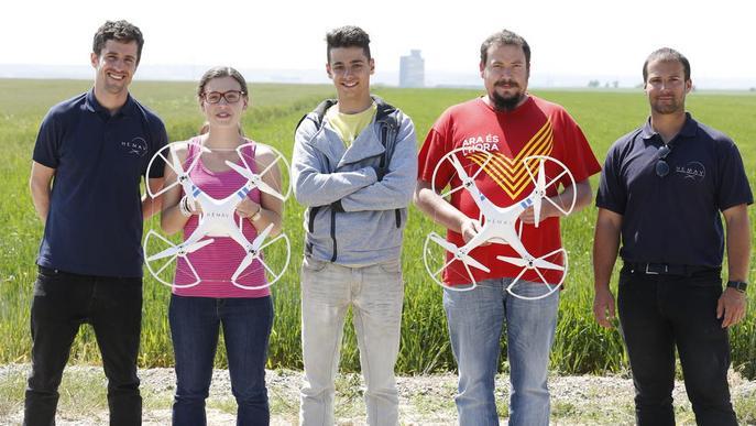 Pilots de dron 'made in' Lleida