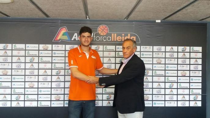 Marc Martí, ja té contracte amb l'Actel Lleida per un any més