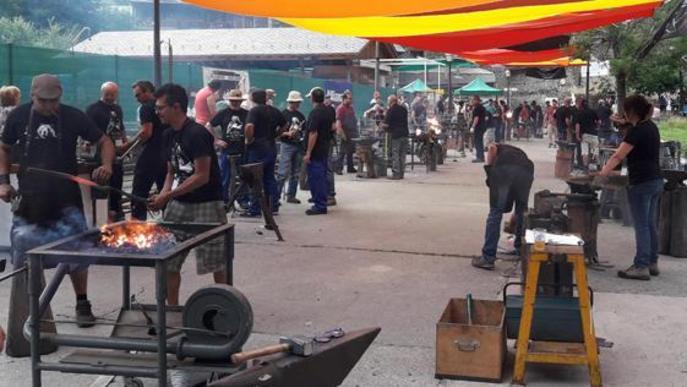 La Fira del Ferro atreu 2.000 persones i cent professionals