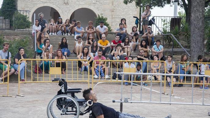 El lleidatà Ferran Orobitg, contra les barreres socials