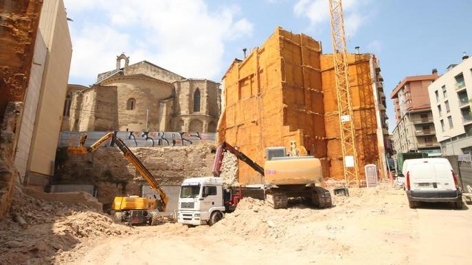 Excavació a la Palma per al nou centre de FP d'Ilerna