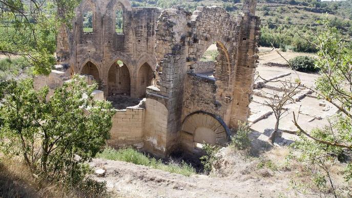 Guimerà habilitarà un camí d'accés des del poble fins a Vallsanta