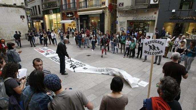 Les peticions d'asil a Lleida es tripliquen en un any, amb 40 el 2016