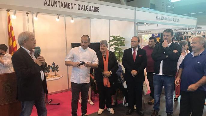Milers de visitants omplen la Fira de la Figa d'Alguaire, que premia el restaurant la Boscana