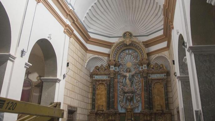 L'església de Butsènit d'Urgell vol convertir-se en icona del barroc