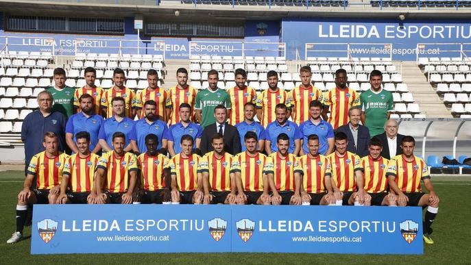 El Lleida, amb la senyera