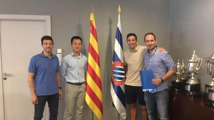Una empresa de Lleida representarà l'Espanyol