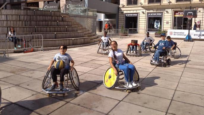 L'esport com a teràpia es mostra al carrer