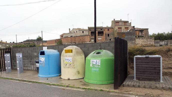 En marxa la prova pilot de la nova recollida de residus als pobles petits de la Segarra