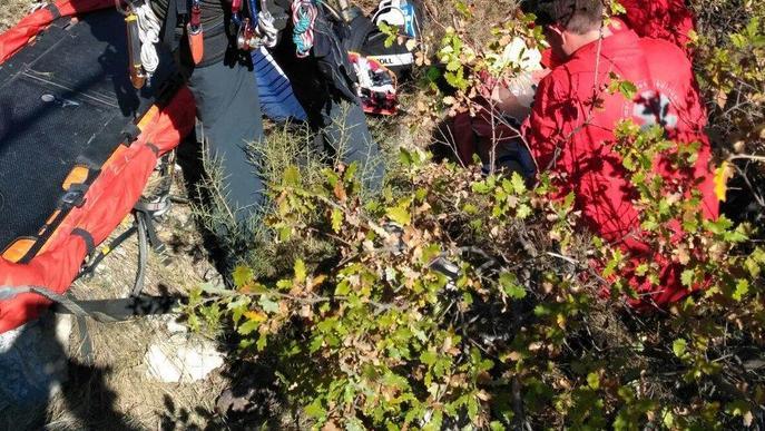 Segueix a l'UCI el caçador de 80 anys que va caure a Baix Pallars