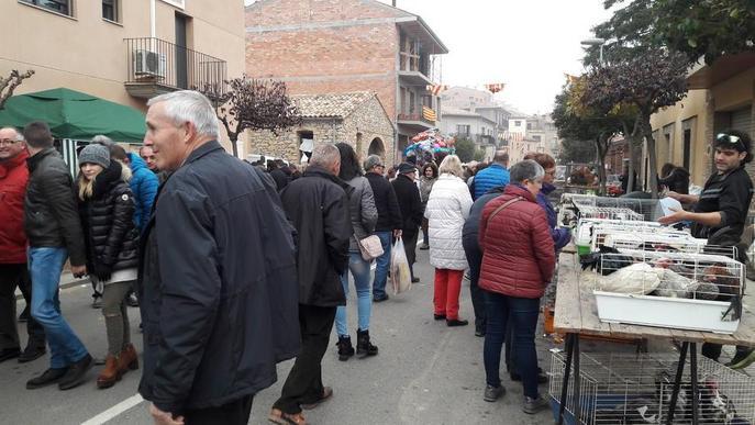 Vilanova de Meià converteix l'absència de Serret en la inauguració de la Fira de la Perdiu en reivindicació