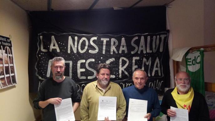 Ipcena exigeix arxivar el projecte de la nova Tracjusa i recull 1.200 al·legacions
