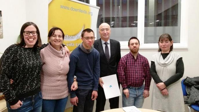 Down Lleida rep 40.000 € per a habitatges d'inclusió