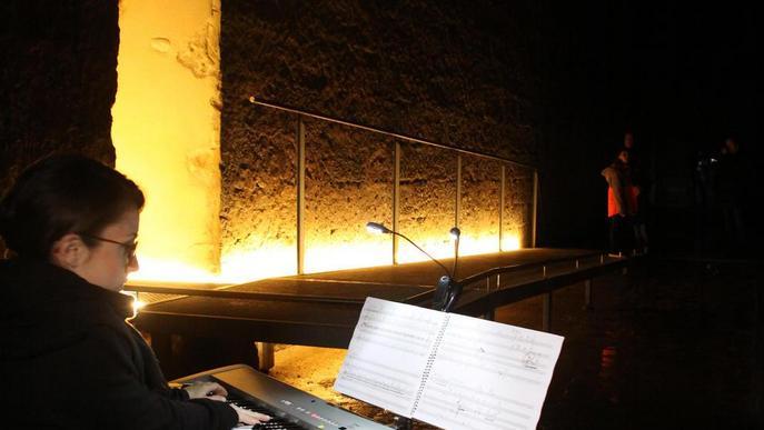 """LleidArt Ensemble i David Esterri """"juguen"""" amb la música al Dipòsit del Pla de l'Aigua"""