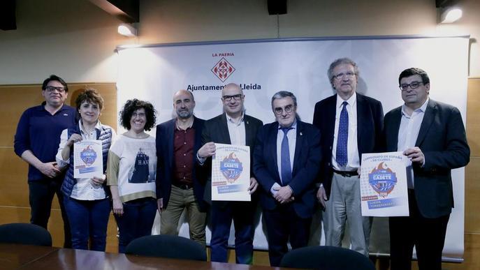 L'Estatal cadet de bàsquet masculí tornarà a omplir els hotels de Lleida