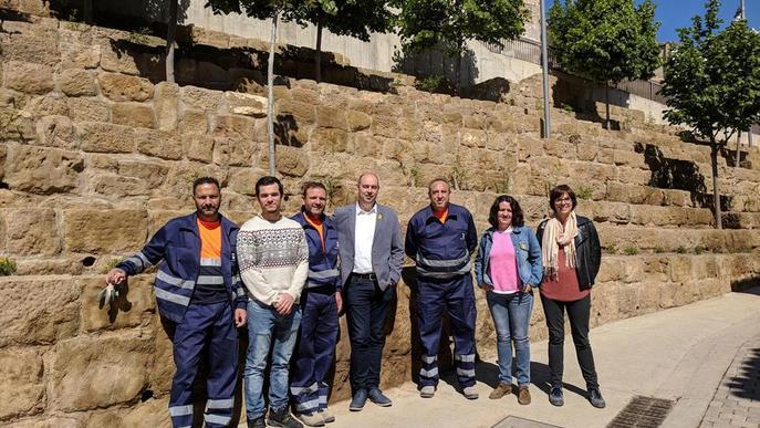 Balaguer crea zones verdes al centre i donarà feina a 31 aturats