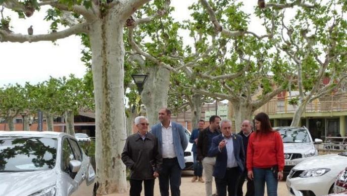Les Borges inaugura la fira de cotxes d'ocasió