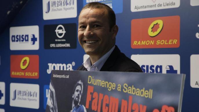 """El Lleida ofereix entrada gratis a Sabadell perquè """"si guanyem, farem play-off"""""""