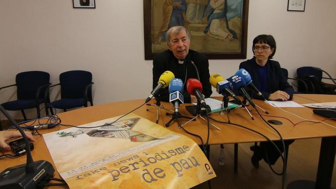 El bisbe reitera que li agradaria un acord amb Barbastre per l'art