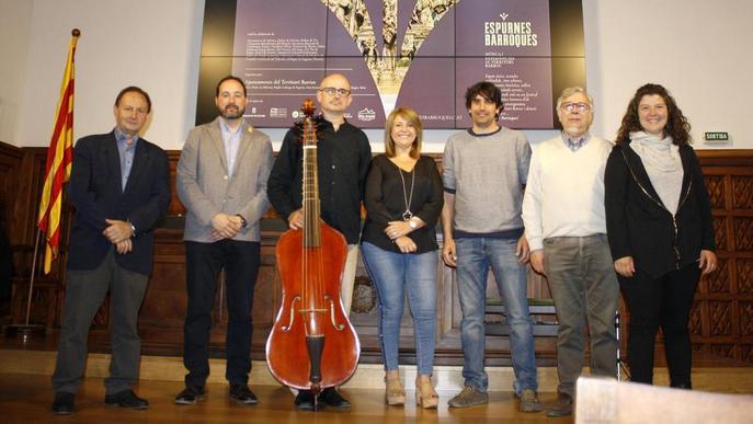 """Música i gastronomia per oferir una """"experiència barroca completa"""""""