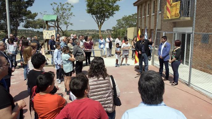 Emotiva 'reinauguració' del col·legi de Ciutadilla, pioner de l'escola rural a Catalunya