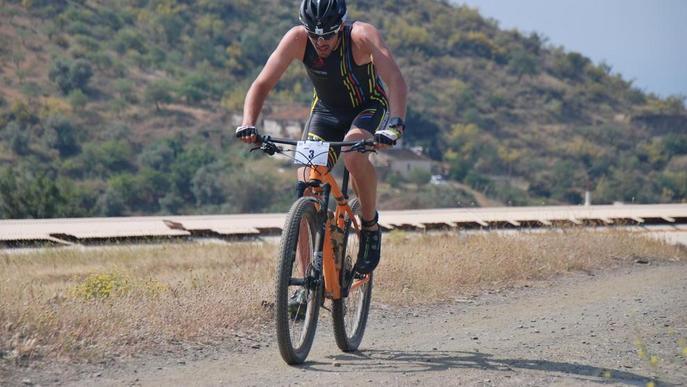 El lleidatà Xavier Jové, subcampió estatal de triatló de muntanya