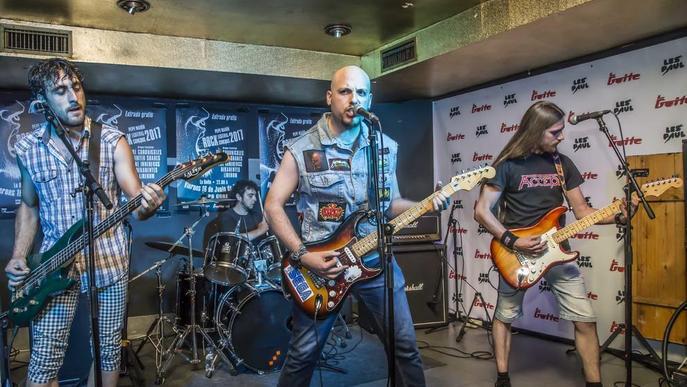 La final del Pepe Marín Rock Festival, el pròxim 15 de juny a la sala La Boîte