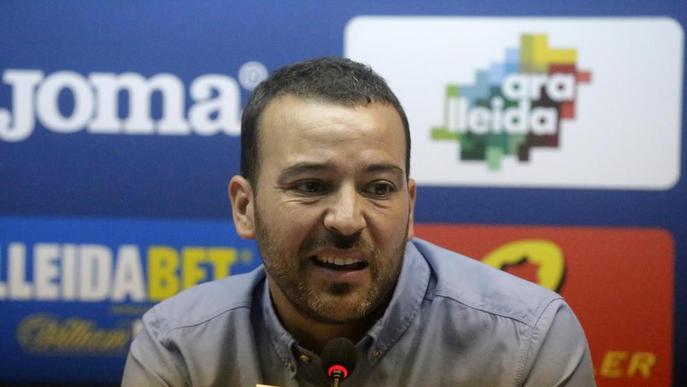 El Lleida no descarta rellevar Albadalejo