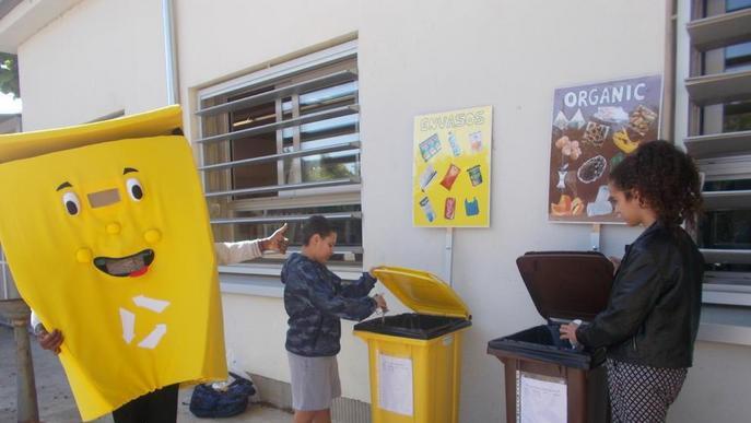 L'institut Ronda, pioner en reciclatge