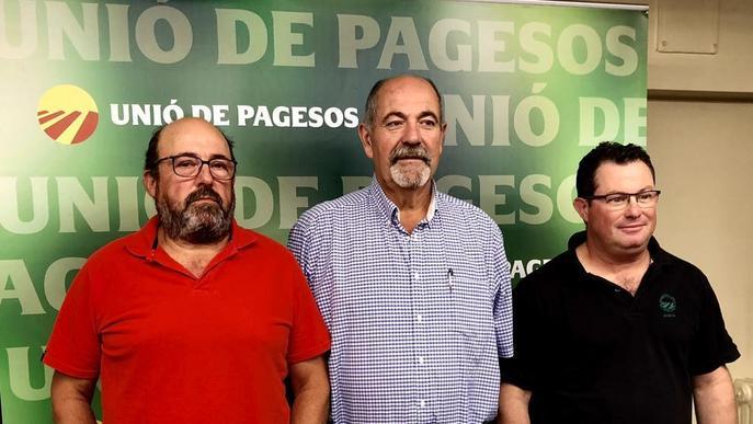 Posicions enfrontades entre agricultors i sindicats