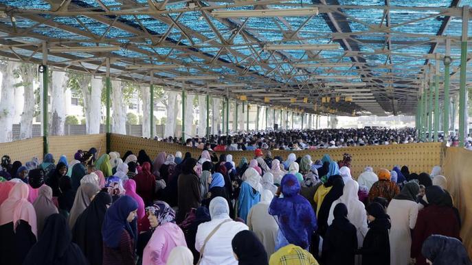 Un final del Ramadà més que massiu
