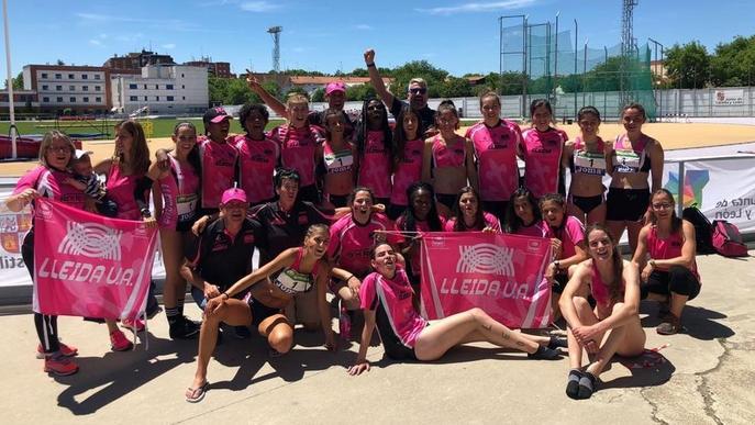 El Lleida UA femení ascendeix com a campió a la Primera divisió