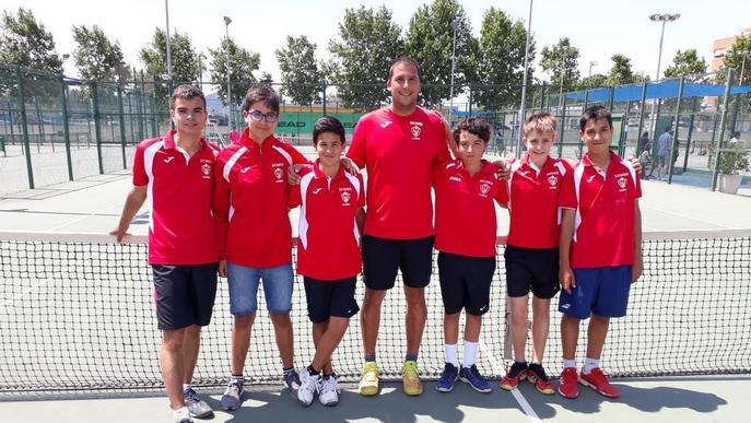 L'infantil del Sícoris, campió de la Lliga Catalana de tenis