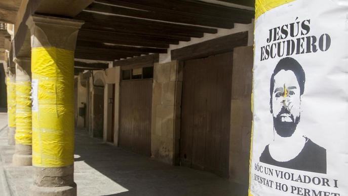 Cervera també s'afegeix a la campanya reivindicativa contra La Manada
