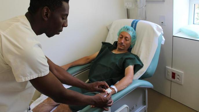 L'Arnau de Vilanova informa les famílies en temps real de la situació dels pacients operats